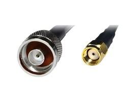 Premiertek Low Loss N to RP-SMA M M RG58 U Coaxial Cable, 5m, PT-NM-RSMA-5, 32918078, Cables