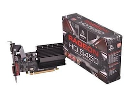 Pine Radeon HD 5450 PCIe 2.1 Graphics Card, 512MB DDR3, HD545XYQH2, 13078587, Graphics/Video Accelerators