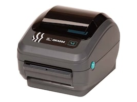 Zebra GK420 DT USB Serial CP Printer w  US Power, GK420 DT USB SERIAL CP US, 13152353, Printers - Label