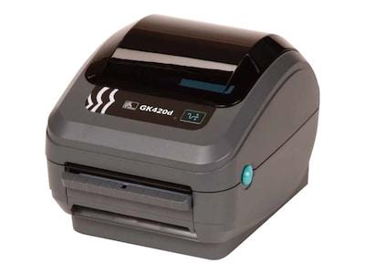 Zebra GK420 DT USB Serial CP Printer w  US Power, GK42-202510-000, 13152353, Printers - Label