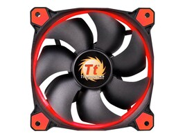 Thermaltake Riing 12 High Static Pressure Radiator Fan 120mm LED 1500 RPM, Red, CL-F038-PL12RE-A, 19748924, Cooling Systems/Fans