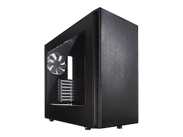 Fractal Design Chassis, Define S with Window, Black, FD-CA-DEF-S-BK-W, 19962091, Cases - Systems/Servers