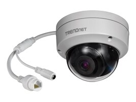 TRENDnet Indoor Outdoor 5MP H.265 WDR PoE IR Dome Network Camera, TV-IP317PI, 34863648, Cameras - Security