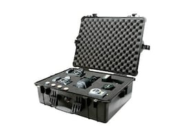 Pelican 1600 Case with Foam, Black, 1600-000-110, 11460379, Carrying Cases - Other