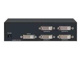 Rose VSP-4 DVI Video Splitter  1x4, VSP-4DVI, 17543087, Network Switches