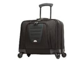 Stephen Gould Spinner Mobile Office Suitcase, Black, 10392-1041, 9681501, Carrying Cases - Other