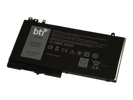 BTI REPLACEMENT LIPOLY NOTEBOOK BATTERY FOR DELL LATITUDE E5270 E5470 E557, NGGX5-BTI, 36179381, Batteries - Notebook