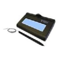 Topaz KioskGem LCD 1x5 Signature Pad USB Backlit, T-LBK462-KAHSB-R, 13808404, Signature Capture Devices