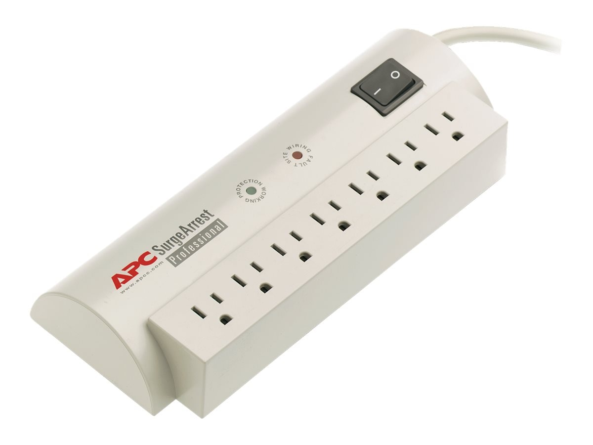 APC Professional SurgeArrest, (7) Outlets, 1680 joules, 6ft Cord, PRO7, 9685, Surge Suppressors