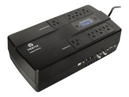 Vertiv Liebert PST5 660VA 400W Offline UPS w  RJ45 Surge Protection, 5-15P Input, (8) 5-15R Outlets, PST5-660MT120, 35389781, Battery Backup/UPS