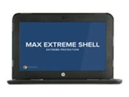 Max Cases Extreme Shell for HP 11 Chromebook G5 EE Clamshell, HP-ES-CB5EE-11-BLK, 34063042, Carrying Cases - Notebook