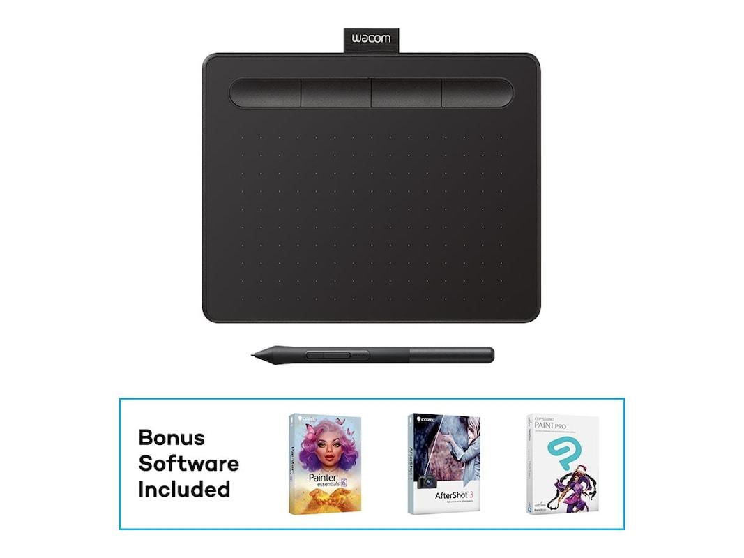 Wacom Small Creative Pen Tablet, Black (CTL4100)