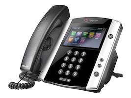 Polycom VVX 600 16-Line Business Media Phone w Skype for Business, 2200-44600-019, 30976397, VoIP Phones