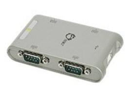 Siig 4Pt. USB to RS232 Serial 9-Pin Serial Port Adapter Hub, JU-SC0111-S1, 13236119, USB & Firewire Hubs