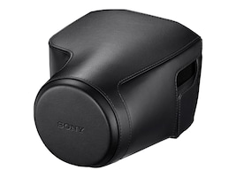 Sony Protective Jacket Case for Sony DSCRX10M3, Black, LCJ-RXJ/B, 35094211, Carrying Cases - Camera/Camcorder
