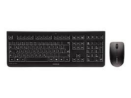 Cherry DW 3000 Wireless Keyboard & Mouse Bundle, Black, French, JD-0700FR-2, 34956609, Keyboard/Mouse Combinations