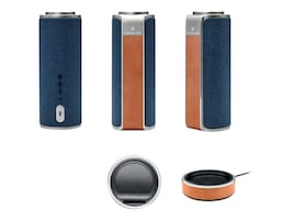 SDI Portable Bluetooth WiFi Speaker - Blue, CAV1LT-PLUS, 38193709, Speakers - Audio