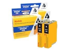 Kodak T126120-D2 Black Ink Cartridges for Epson Stylus NX330, T126120-D2-KD, 31286849, Ink Cartridges & Ink Refill Kits