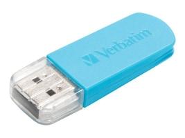 Verbatim 16GB Store N Go Mini Flash Drive, Blue, 49832, 16263024, Flash Drives
