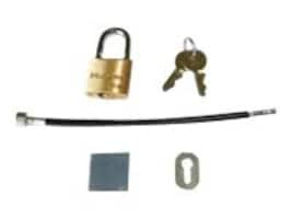 Chief Manufacturing Cable Padlock Kit, PACLK1, 18047544, Security Hardware