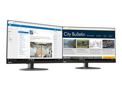 Lenovo 22.5 T23D-10 WUXGA LED-LCD Monitor, Black, 61C3MAR6US, 36110682, Monitors