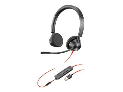 Plantronics Blackwire 3325 USB-A Headset, 213938-01, 38109335, Headsets (w/ microphone)