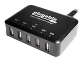 Plugable 5-Port USB Smart Charger, USB-C5TX, 30988363, Battery Chargers