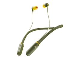 Skullcandy INKD+ WRLS MOSS OLIVE YELLOW   WRLS, S2IQW-M687, 36889235, Carrying Cases - Phones/PDAs