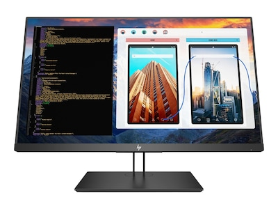 HP 27 Z27 4K Ultra HD LED-LCD Monitor, Black, 2TB68A8#ABA, 35500486, Monitors