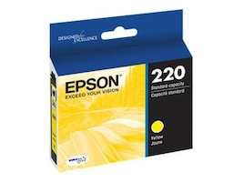 Epson Yellow DuraBrite Ultra Ink Cartridge for WF-2630 2650, T220420, 18227060, Ink Cartridges & Ink Refill Kits