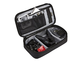 Case Logic Go Pro Slim Action Camera Case, TBC413BLACK, 30575446, Carrying Cases - Camera/Camcorder