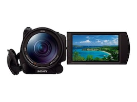 Sony 4K Ultra HD Camcorder w  1 Sensor, FDRAX100/B, 18921799, Camcorders