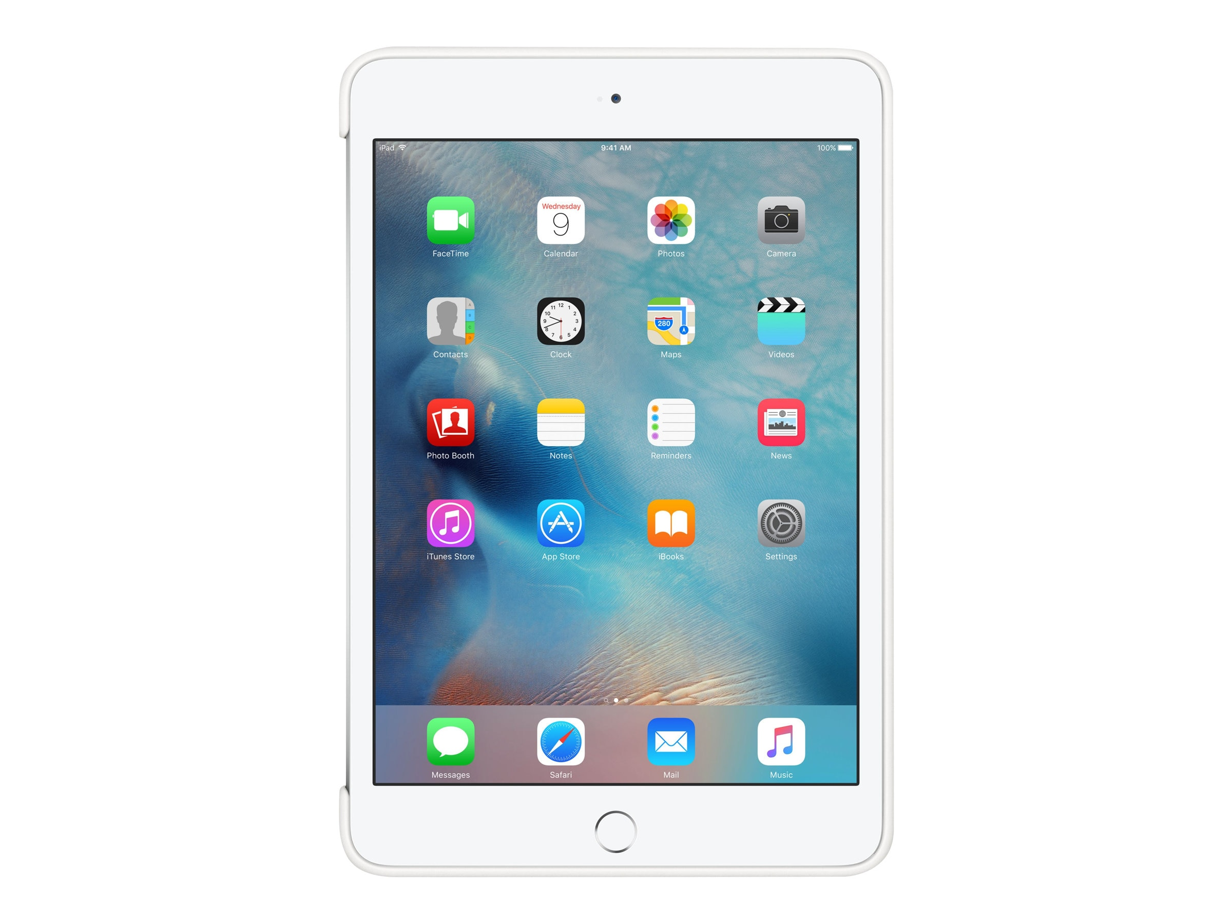 Apple Silicone Case for iPad mini 4, White, MKLL2ZM/A, 32668582, Carrying Cases - Tablets & eReaders
