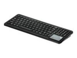 iKEY Rugged Keyboard w  Touchpad, LED Backlight, VESA Mount, ABS, SLK-102-TP-M-USB, 15225958, Keyboards & Keypads