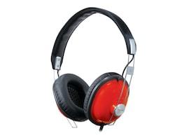 Panasonic Old School Monitor Stereo Headphones, Red, RP-HTX7-R1, 8813321, Headphones