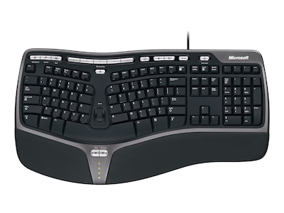 Microsoft Natural Ergonomic Keyboard 4000, B2M-00012, 5942486, Keyboards & Keypads