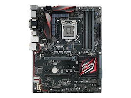 Asus Motherboard, H170 Pro Gaming ATX H170 LGA1151 Core i7 i5 i3 Family Max.64GB DDR4 4xSATA 6xPCIe GbE, H170 PRO GAMING, 30755826, Motherboards