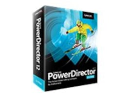 Cyberlink PowerDirector 12.0 Ultra for Windows XP Vista 7 8, PDR-EC00-RPU0-00, 16200040, Software - Video Editing