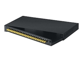 Black Box Rackmount Fiber Panels, Loaded, ST, (24) Simplex, JPM370A-R2, 12639143, Premise Wiring Equipment