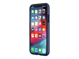 Incipio DualPro Case for iPhone XS, Midnight Blue, IPH-1776-MDNT, 36003238, Carrying Cases - Phones/PDAs