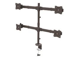 StarTech.com Heavy Duty Articulating Desk Mount Quad Monitor Arm, ARMQUAD, 33794054, Stands & Mounts - AV