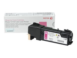 Xerox Magenta Toner Cartridge for Phaser 6140, 106R01478, 10622410, Toner and Imaging Components - OEM