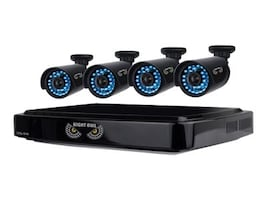 Night Owl 8-Channel Smart HD Video Security System with 1TB HDD and 4x 720p HD Cameras, B-A720-81-4, 19055159, Video Capture Hardware