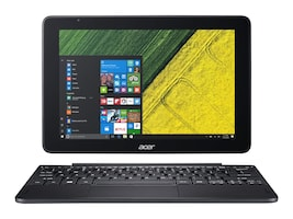 Acer One S1003-15NJ Atom x5-Z8300 1.44GHz 2GB 64GB SSD bgn BT 2xWC 2C 10.1 WXGA MT W10H Black, NT.LCQAA.004, 34924746, Tablets
