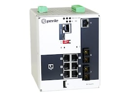 Perle IDS-509G2PP6-C2MD05-XT DIN RM Managed Switch 6xGbE PoE+ 3xGbE 1xPSU, 07016570, 34114209, Network Switches