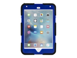 Griffin All-Terrain Military Duty Anti-Shock Case w  Stand for iPad mini 4, Blue, GB41356, 30781389, Carrying Cases - Tablets & eReaders