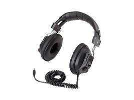 Avid AE-808USB Lab Over-Ear Headphones w Volume Control - Black, AE-808USB, 16709575, Headphones