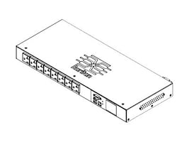 Raritan PDU 1.9kVA 120V 16A 1-ph 1U L5-15P Input (8) 5-20R Outlets, PX3-5145R, 21326392, Power Distribution Units