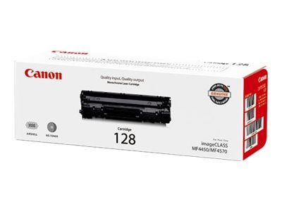 Canon Black 128 Toner Cartridge, 3500B001, 12065194, Toner and Imaging Components - OEM
