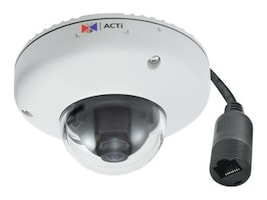Acti 10MP Outdoor Mini Dome with Basic WDR, 3.6mm Fixed lens, E922, 19911701, Cameras - Security